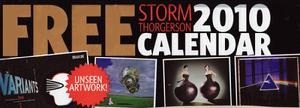 Great calendar FREE w/Classic Rock Magazine