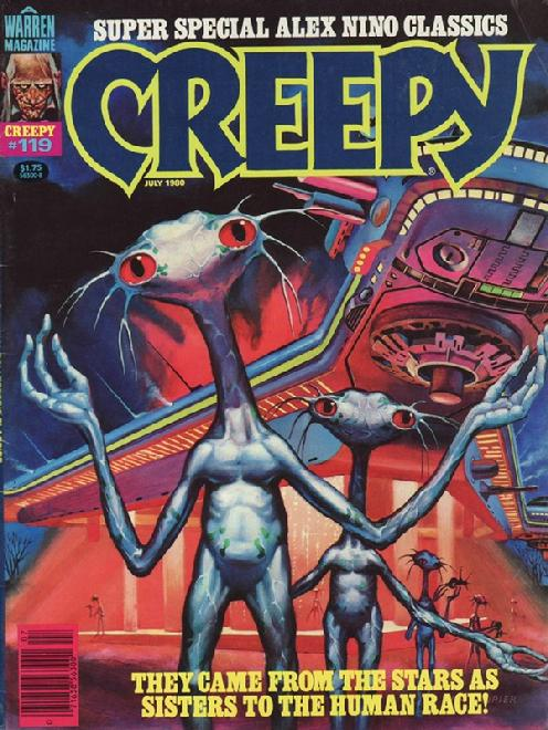 Creepy magazine #119 July 1980