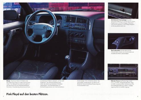 Volkswagen Golf Pink Floyd - car 1994