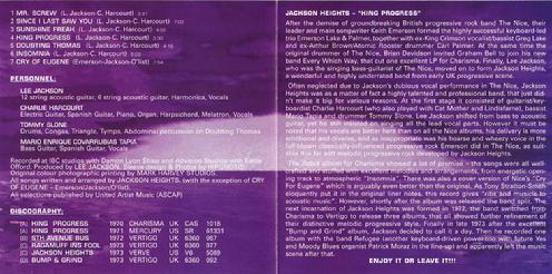 CD Russia insert inside
