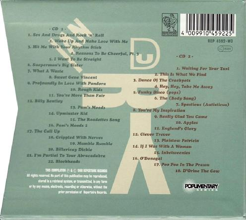 CD Germany slip-case back