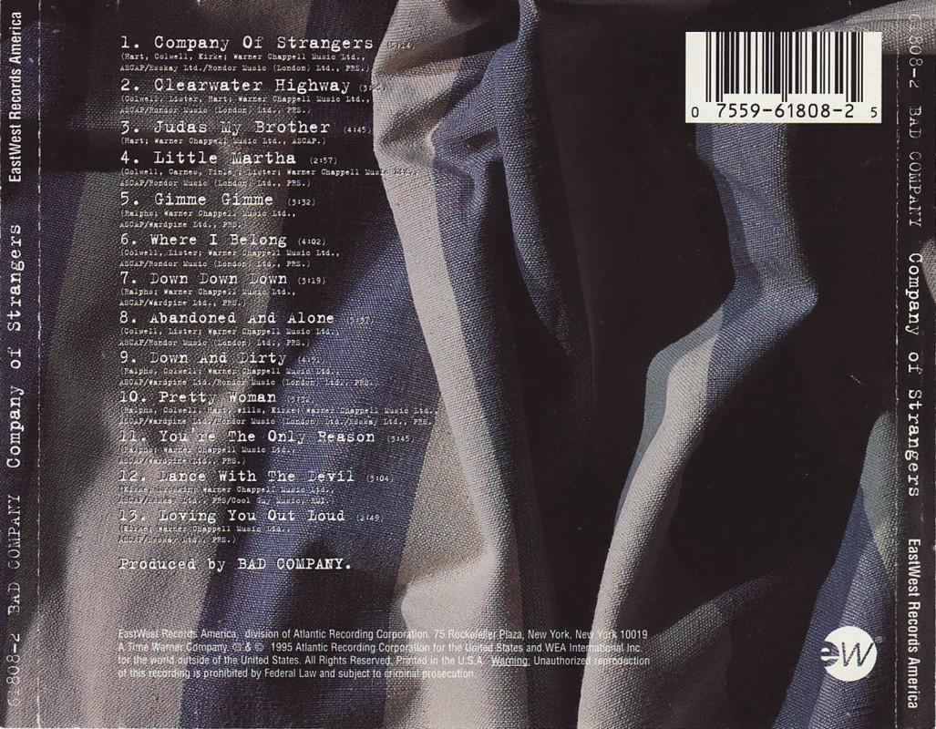 Company Of Strangers - album 1995