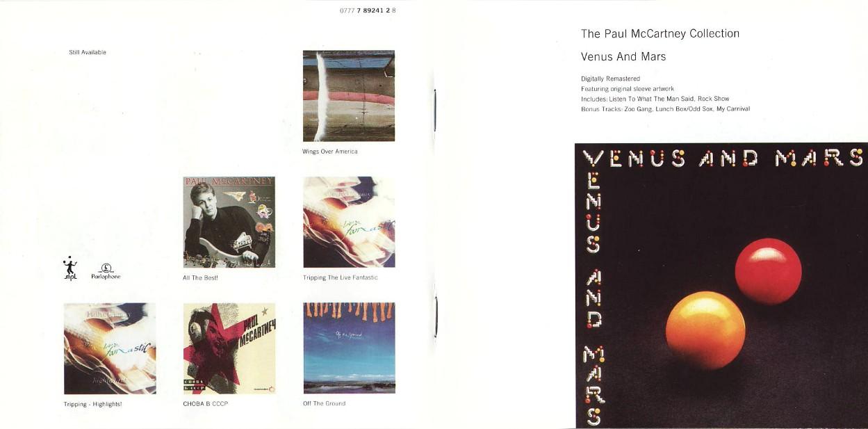 Venus And Mars - album 1975