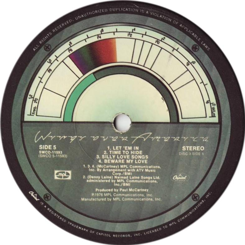 Wings Over America - album 1976